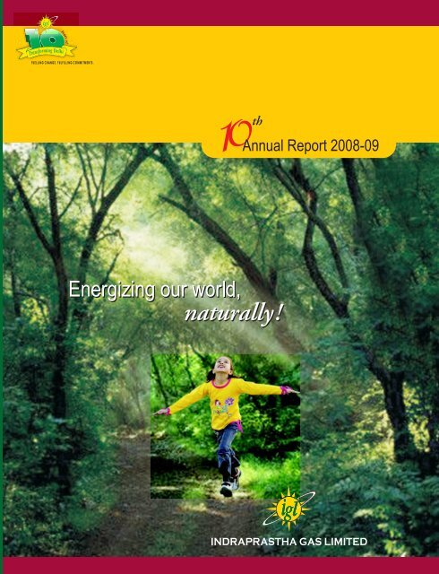 Annual Reports - Indraprastha Gas Limited