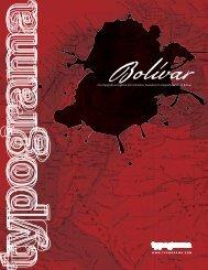 catálogo Bolívar.indd - MyFonts