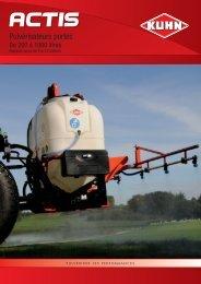 ACTIS de 200 à 1000 litres - Kuhn.com