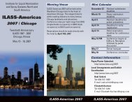 Download registration form in pdf - ILASS Americas