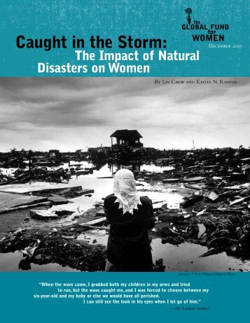 Caught in the Storm: - Global Fund for Women