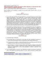 L.R. n. 21 Testo Coordinato - 11 Agosto 2010 - Regione Calabria ...