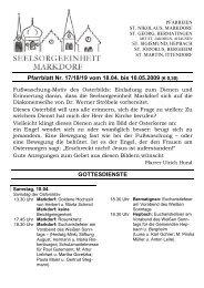 Pfarrblatt Nr. 17/18/19 vom 18.04. bis 10.05.2009 (€ 0,30 ...