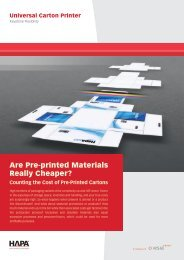 Are Pre-printed Materials Really Cheaper?