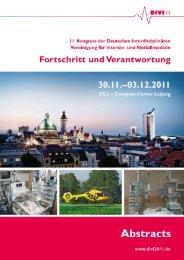 divi2011 - Deutsche Interdisziplinäre Vereinigung für Intensiv- und ...