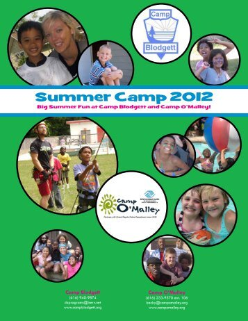 2012 Camp Brochure - wcolor.pdf - Boys & Girls Club Grand Rapids ...