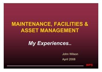 View - Asset Management Council