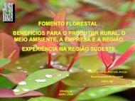fomento florestal - Associação Brasileira de Produtores de Florestas ...