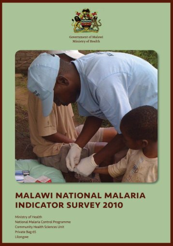 Malawi National Malaria Indicator Survey 2010 - GiveWell