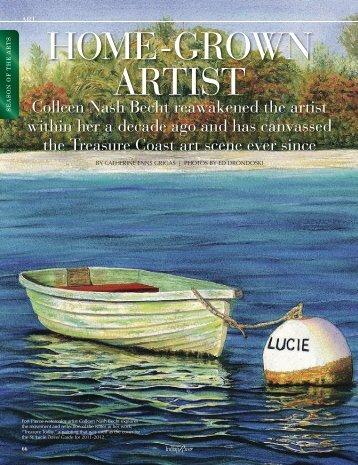 HOME-GROWN ARTIST - Indian River Magazine