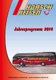 Download Jahresprogramm 2014 als pdf-Datei - Reisebüro Harsch