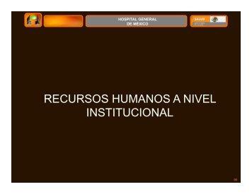 Cuaderno 2da Parte Institucional - Hospital General de México