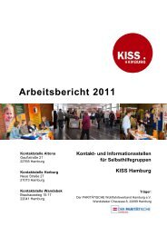 Arbeitsbericht 2011 - bei KISS Hamburg