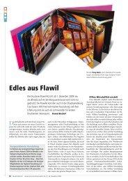 Artikel Media World vom 24.11.2009 - Steinemann Technology AG