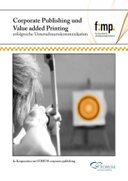 Corporate Publishing und Value added Printing - PrintPerfection