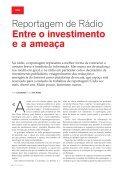 Entre o investimento e a ameaça - Clube de Jornalistas - Page 6