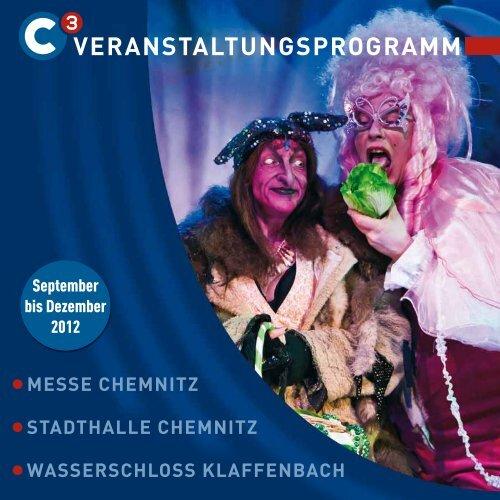 Programmheft downloaden (PDF 7450.9 kb) - Stadthalle Chemnitz