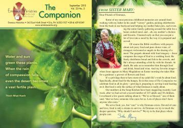 Companion - Benedictine Sisters of Erie