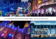 Le Calvados illumine ses nuits d'été 2012 - Conseil général du ...