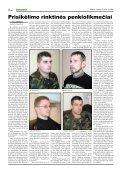 Savanorių pajėgoms – 15 metų - Krašto apsaugos ministerija - Page 4
