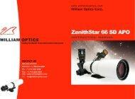 ZenithStar 66 SD APO - William Optics