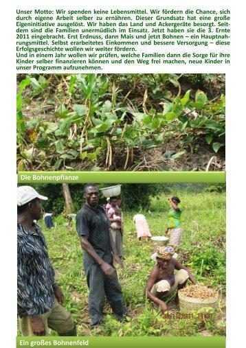 zum spannenden Bericht - Togo-Kinder Zukunftschance eV