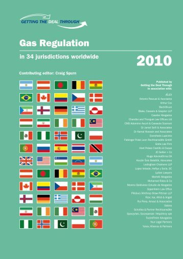 Getting the Deal Through – Gas Regulation 2010 - Best Lawyers