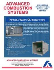Waste Oil Incinerators - ACS, Inc