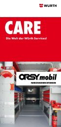 CARE-Folder ORSYmobil - Würth