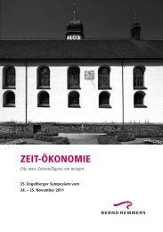 ZEIT-ÖKONOMIE - Bernd Remmers Consultants