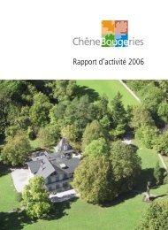 Rapport d'activité 2006 [3 Mo] - Chêne-Bougeries
