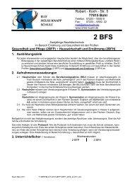 2 BFS - Elly-Heuss-Knapp-Schule Bühl