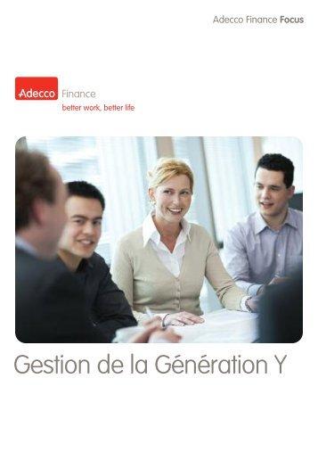 AFF 08/2009 - Gestion de la Génération Y