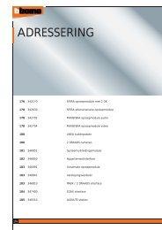 ADRESSERING - BTicino