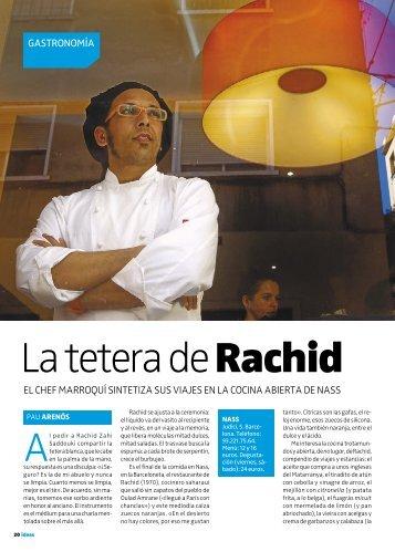 La tetera de Rachid - Nass Restaurant