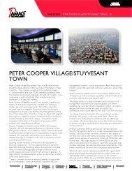 PETER COOPER VILLAGE/STUYVESANT TOWN - AMAG