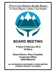 Board Papers - Public - for meeting held 8th February 2013