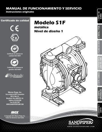 Modelo S1F metálica Nivel de diseño 1