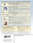 ANSI Products-spanish.indd - Miller Fall Protection - Page 4