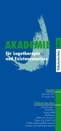 Akademie für Logotherapie und Existenzanalyse Mainz