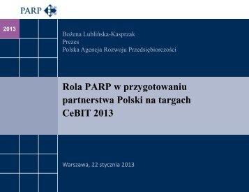 pobierz prezentację - Polska Agencja Rozwoju Przedsiębiorczości