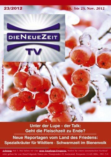 herunterladen - DIE NEUE ZEIT TV