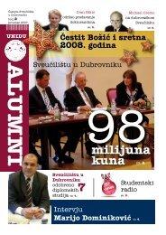 Alumni - broj 2 - Sveučilište u Dubrovniku