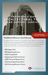 Electronic Tools - Clarkdietrich Building Systems