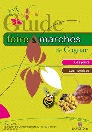 Guide foire et marchés Cognac - PDF - Ville de Cognac