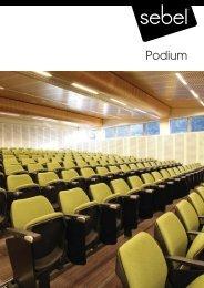 Podium Seating System by Sebel Furniture