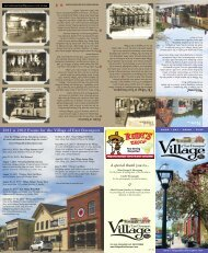 2012 Events For The Village Of East Davenport