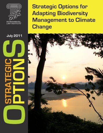 Strategic Options for Adapting Biodiversity Management to Climate ...