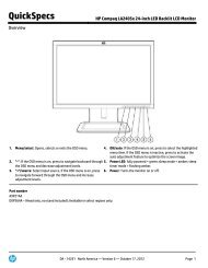 HP Compaq LA2306x 23-inch LED Backlit LCD Monitor
