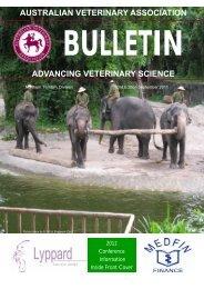 australian veterinary association advancing veterinary science